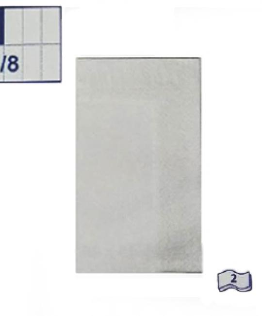 1500d9eaa Obrúsky 2-vrstvé, 40 x 40 cm, biele, 1/8 skladanie