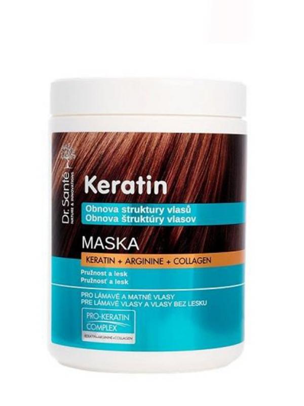 Dr. Santé Keratin Hair maska na lámavé vlasy 1 l