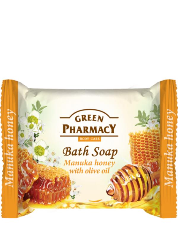 Green Pharmacy Krémové mydlo Manuka med s olivovým olejom 100g