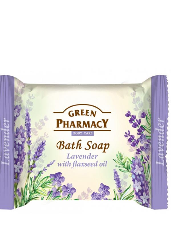Green Pharmacy Krémové mydlo Levanduľa s ľanovým olejom 100g