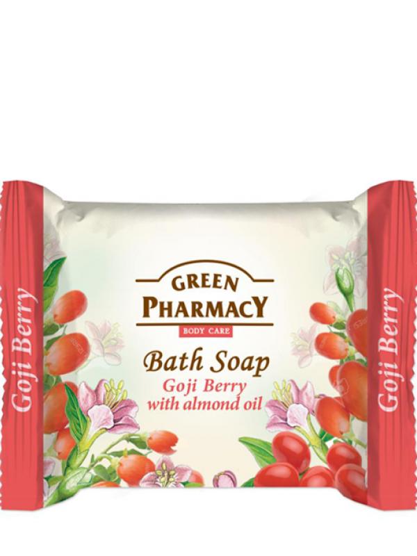 Green Pharmacy Krémové mydlo Goji bobule s mandľovým olejom 100g