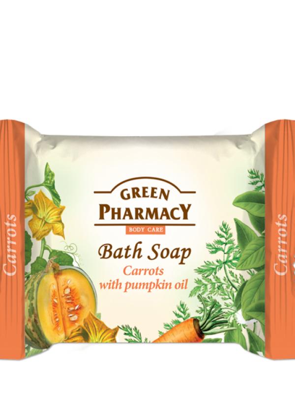 Green Pharmacy Krémové mydlo Mrkva s tekvicovým olejom 100g
