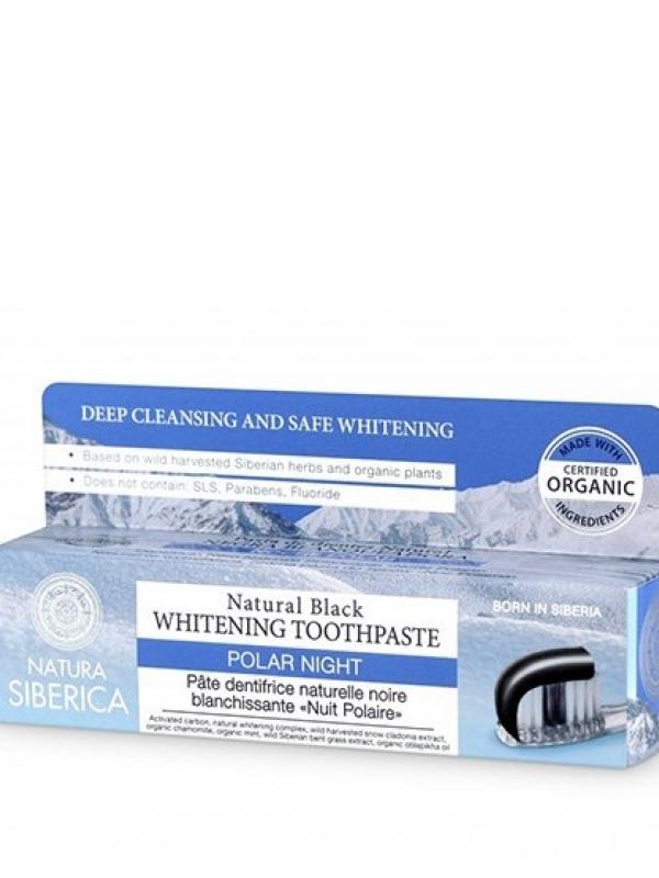 Zubná pasta - čistiaca čierna noc 100g