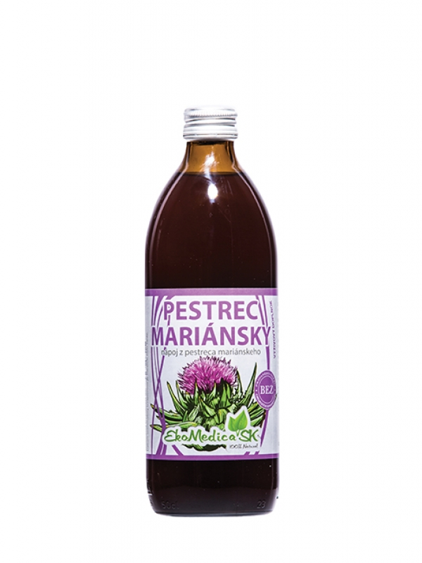 EKOMEDICA Pestrec mariansky nápoj 500ml
