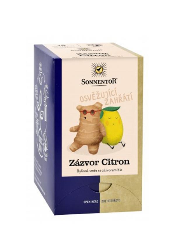 Čaj zázvor citrón BIO SONNENTOR 30 g