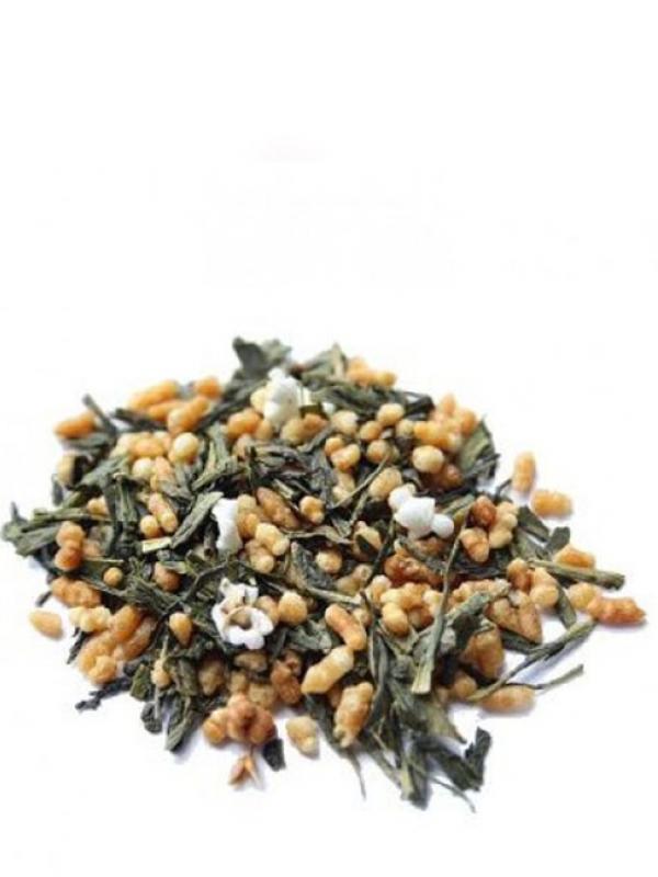 Japan genmaicha organic – japonský zelený čaj Bio TEA MARKET 50g