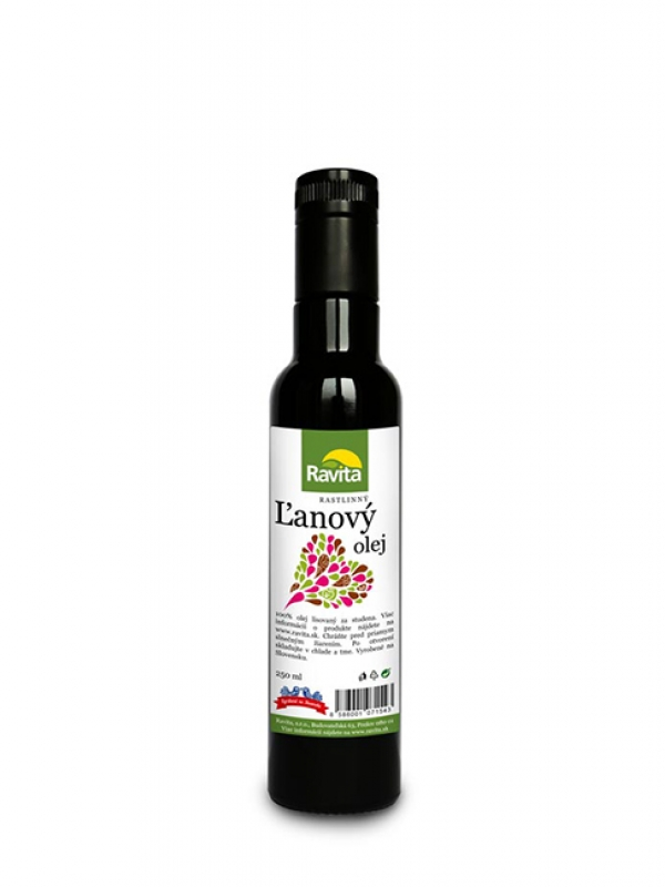 Ľanový olej RAVITA 250ml