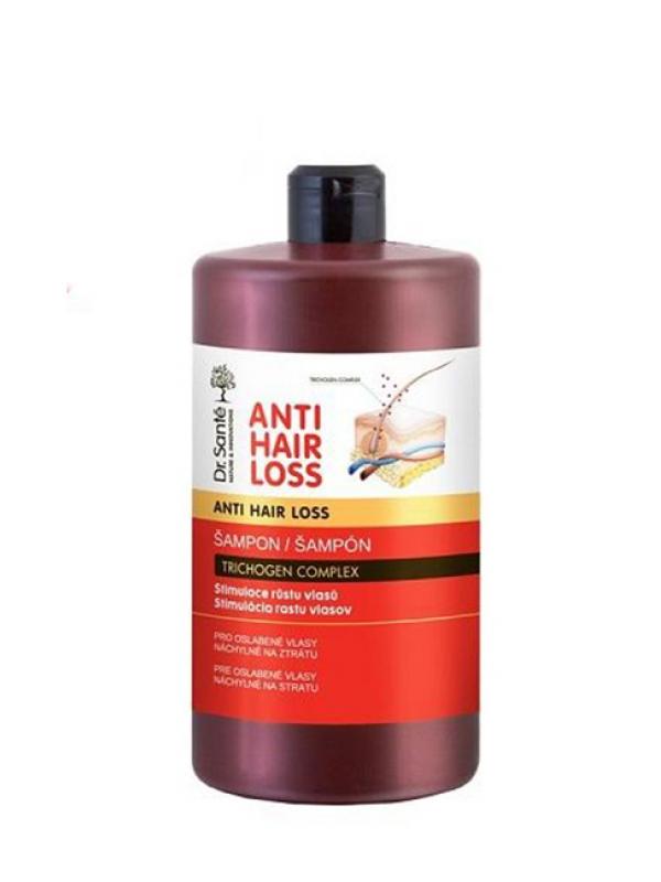 Anti Hair Loss šampón na vlasy- stimulácia rastu vlasov Dr. Santé 1000ml