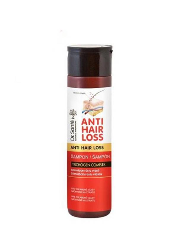 Anti Hair Loss šampón na vlasy- stimulácia rastu vlasov Dr. Santé 250ml