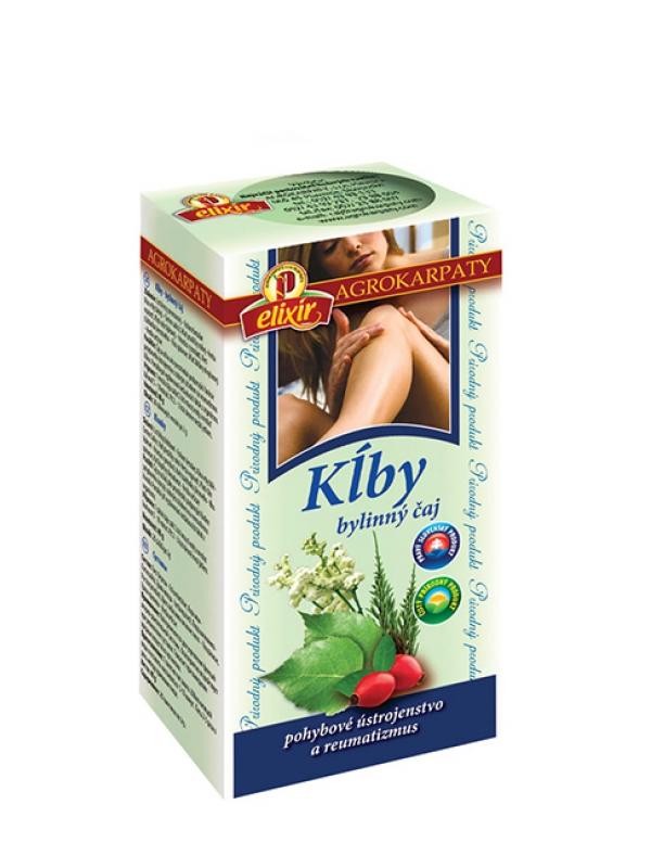 Čaj bylinný - na kĺby AGROKARPATY 20x2g