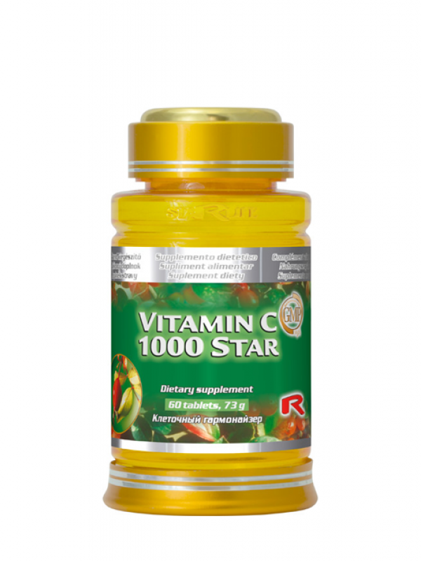 Vitamin C 1000 Star STARLIFE 60 tabliet