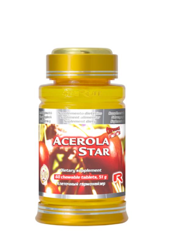 Acerola Star STARLIFE 60 tabliet