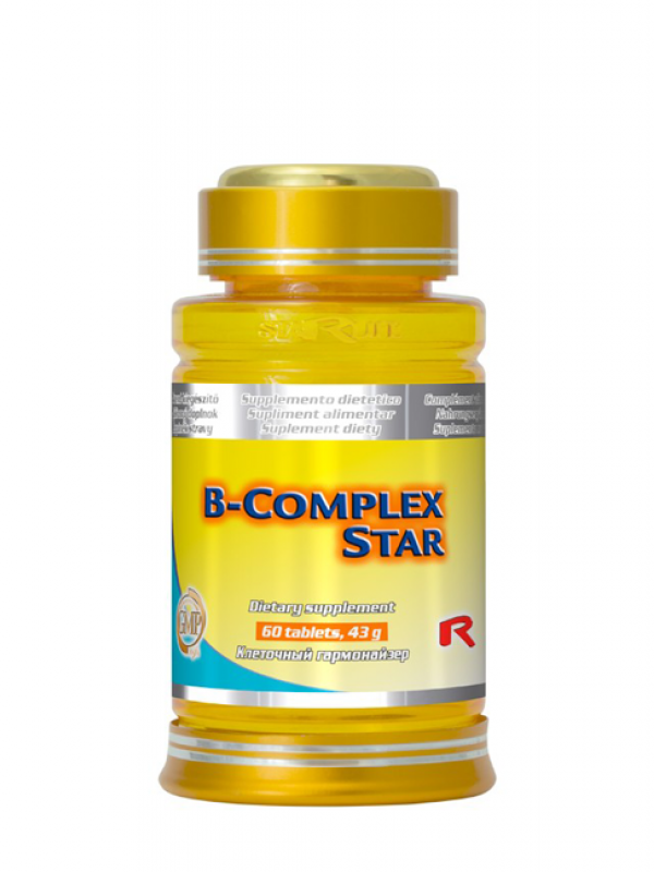 B-Complex Star STARLIFE 60 tabliet