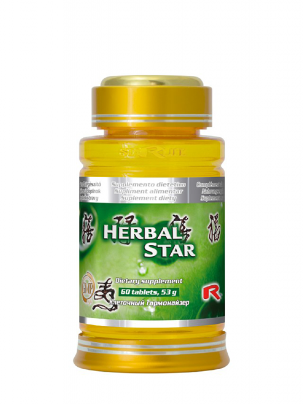 Herbal Star 60 tabliet