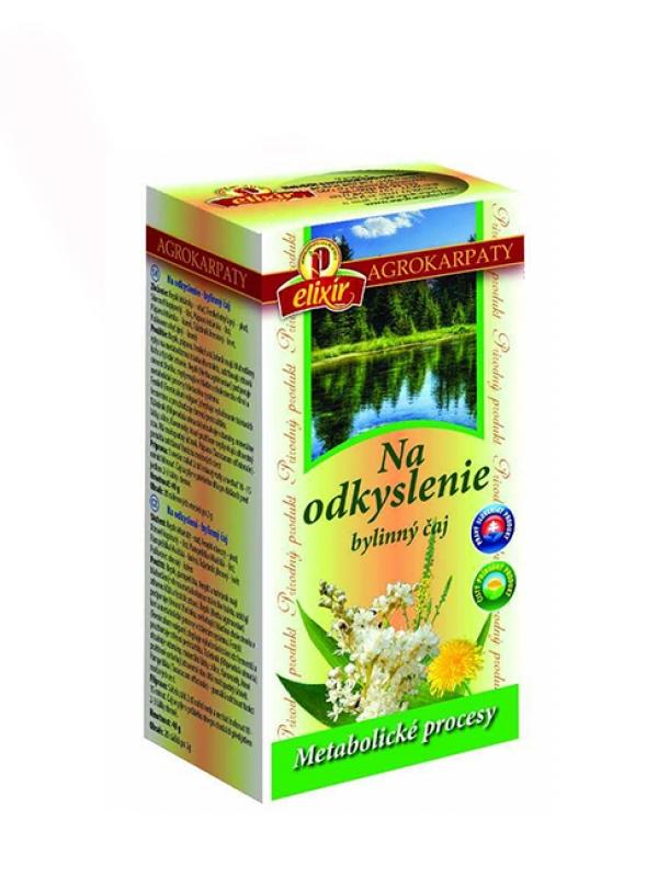 Bylinný čaj na odkyslenie AGROKARPATY 20x2g