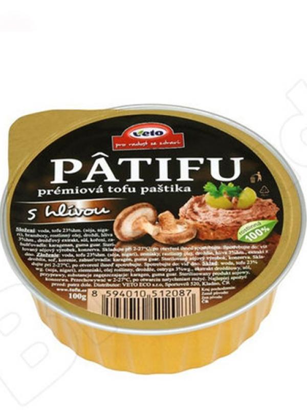Nátierka Patifu s hlivou 100g