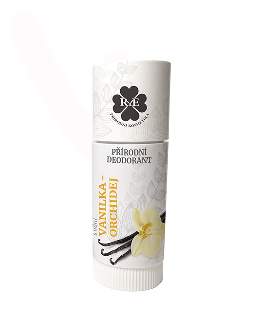 Prírodný deodorant -vanilka a orchidea 25ml