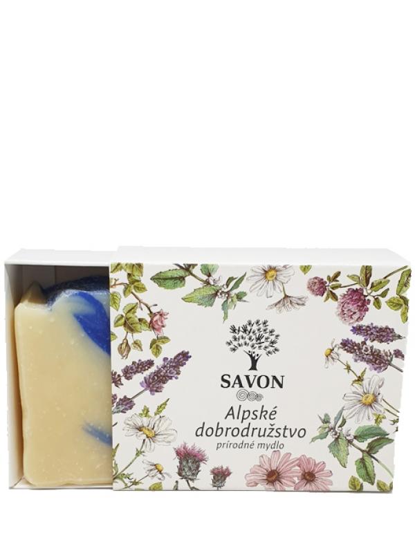 Prírodné mydlo - alpské dobrodružstvo SAVON 100g