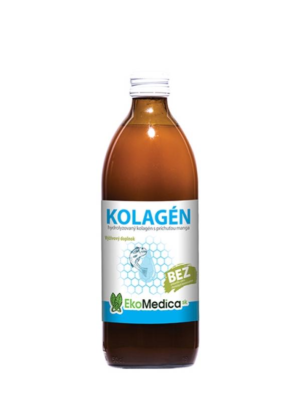 EKOMEDICA kolagén s príchuťou manga 500 ml
