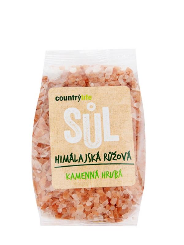 Soľ himalájska ružová hrubá COUNTRY LIFE 500 g