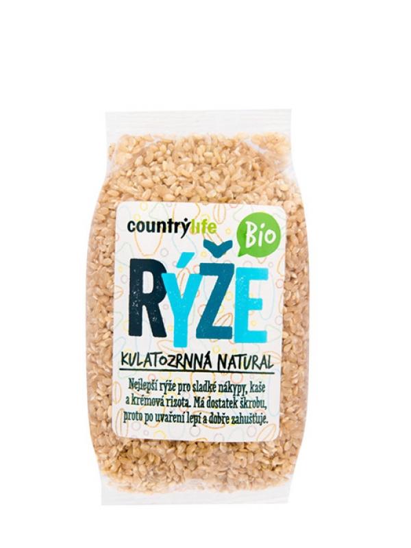 Ryža guľatozrnná natural BIO COUNTRY LIFE 500 g