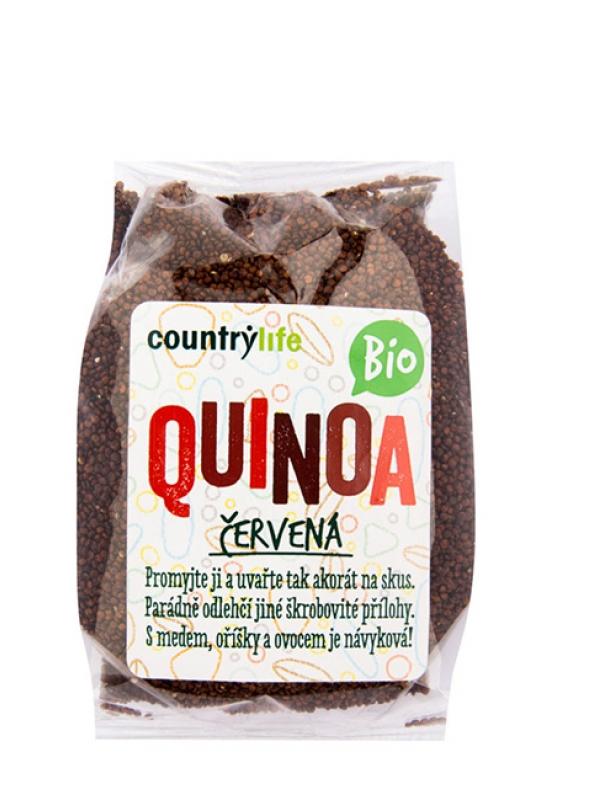 Quinoa červená BIO COUNTRY LIFE 250 g