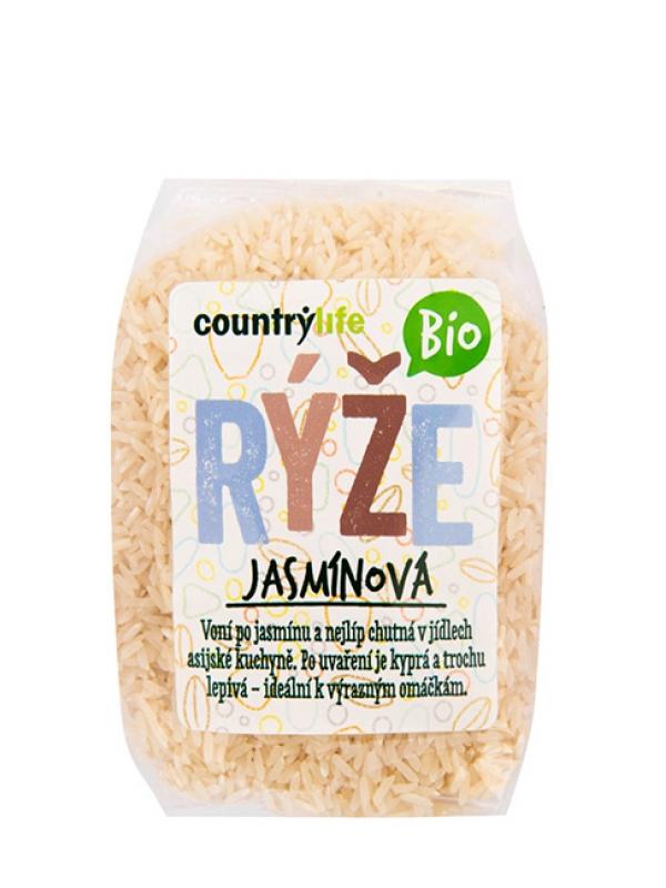 Ryža jasmínová BIO COUNTRY LIFE 500 g