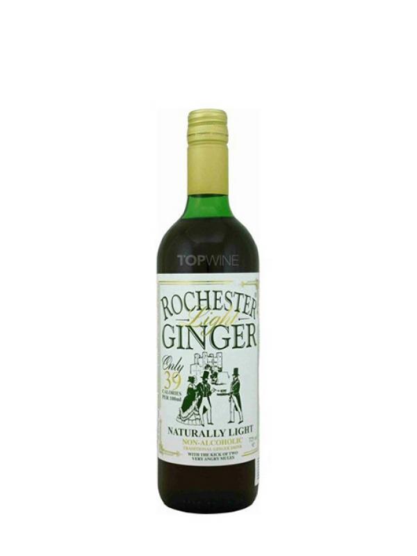 Rochester Ginger light - nealkoholický tradičný zázvorový nápoj 750 ml