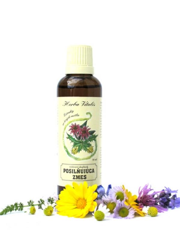 Tinktúra zo živých rastlín Posilňujúca zmes HERBA VITALIS 50 ml