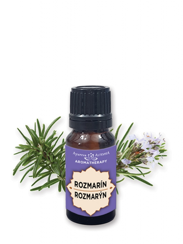 100% esenciálny olej - rozmarín ALTEVITA 10 ml