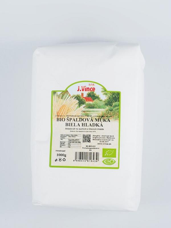 Bio špaldová múka biela hladká VINCE 1 Kg