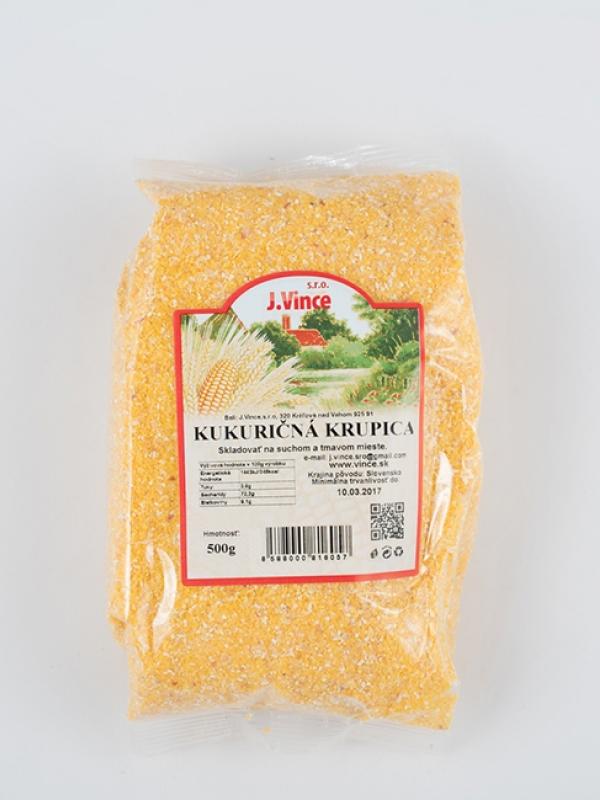 Kukuričná krupica VINCE 500 g