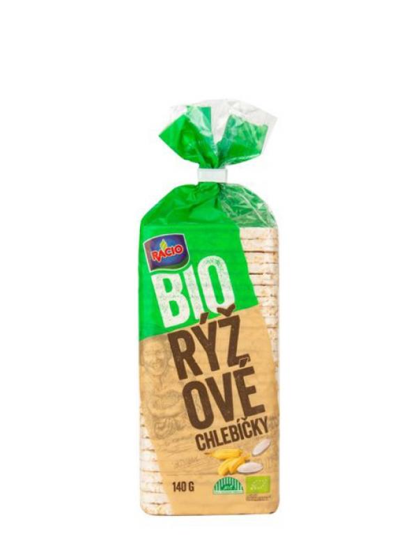 Chlebíčky ryžové bezlgluténové BIO RACIO 140 g