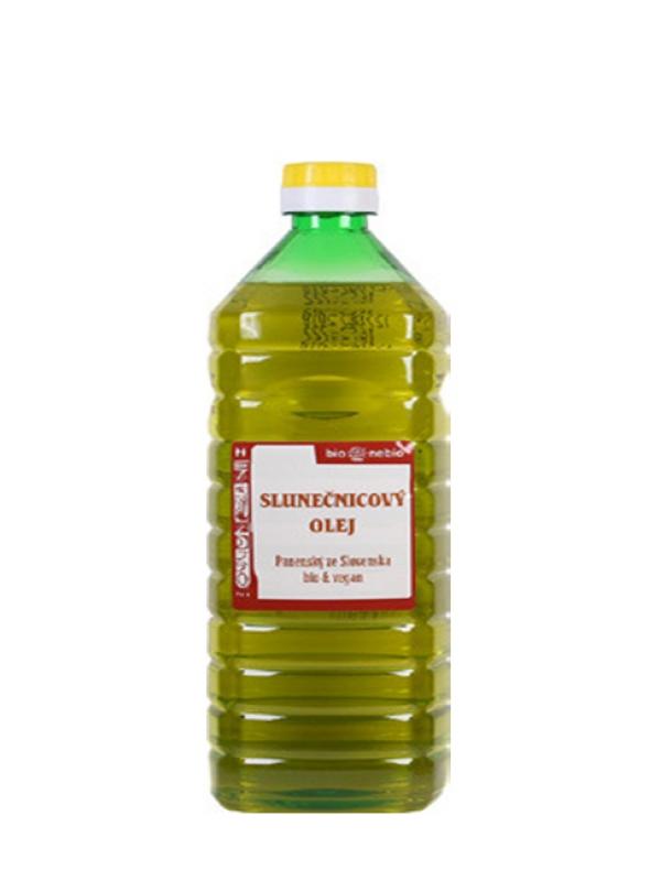 Slnečnicový olej na smaženie BIONEBIO 1 L