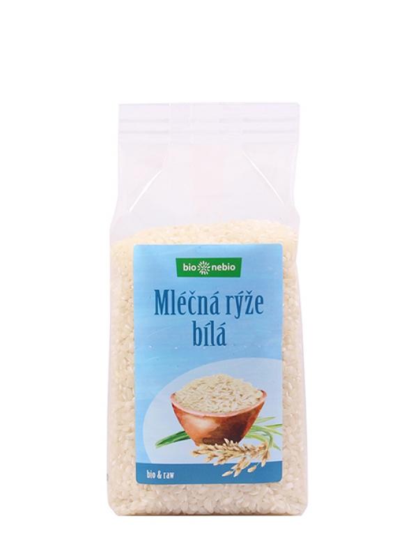 Ryža mliečna biela BIONEBIO 500 g