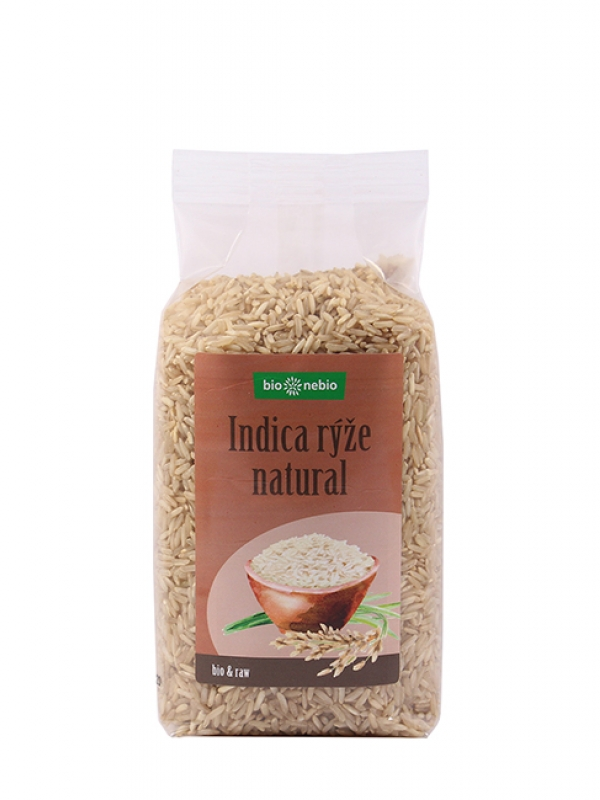 Ryža indica natural BIONEBIO 500 g