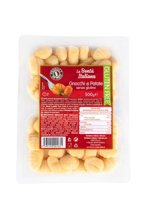 Zemiakové gnocchi bezlepkové LA BONTÁ ITALIANA 500 g