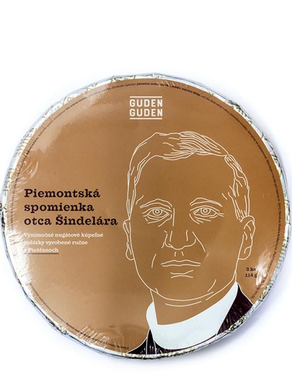 Oplátky - Piemontská spomienka otca Šindelára GUDEN GUDEN 114 g