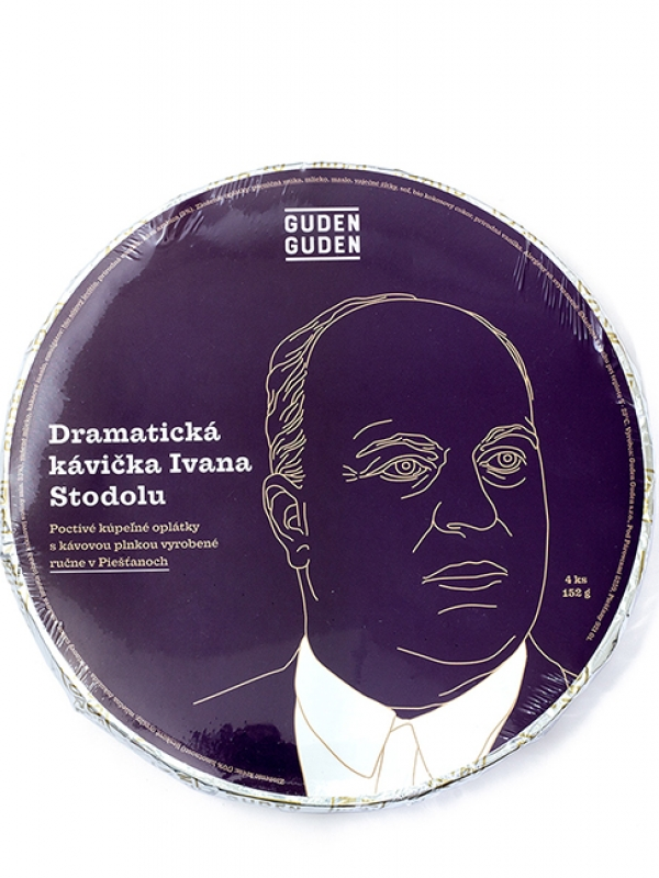 Oplátky - Dramatické kávičky Ivana Stodolu GUDEN GUDEN 152 g
