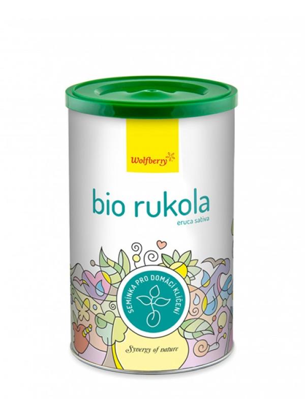 Rukola - semienka na domáce klíčenie Bio WOLFBERRY 200 g