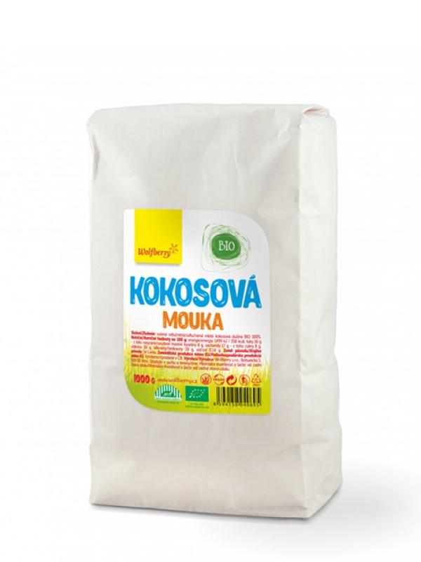 Kokosová múka bio WOLFBERRY 1000 g