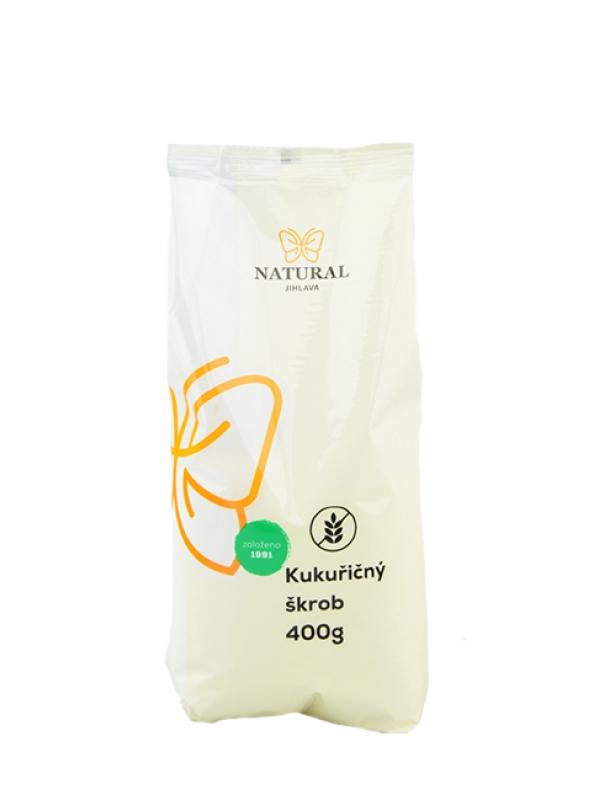 Kukuričný škrob NATURAL JIHLAVA 400 g