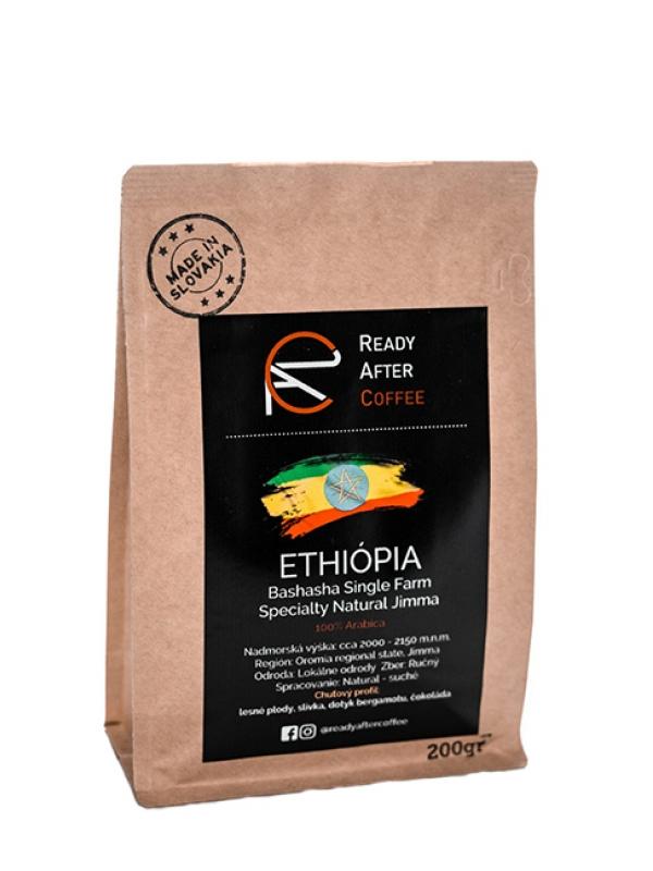 Ethiopia - výberová znková káva 200 g