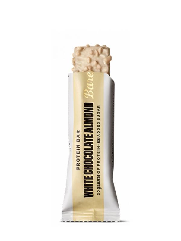 Barebells protein bar 55 g - biela čokoláda+ mandle