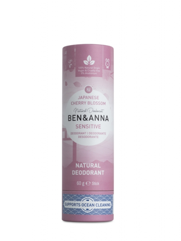 Prírodný deodorant SENSITIVE BEN&ANNA - Japonská čerešňa 60 g