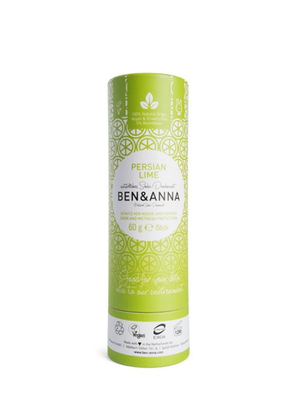 Prírodný deodorant BEN&ANNA - Perzská limetka 60 g