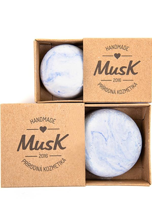 Kapitán - pánsky šampón na rast vlasov MUSK 80 g
