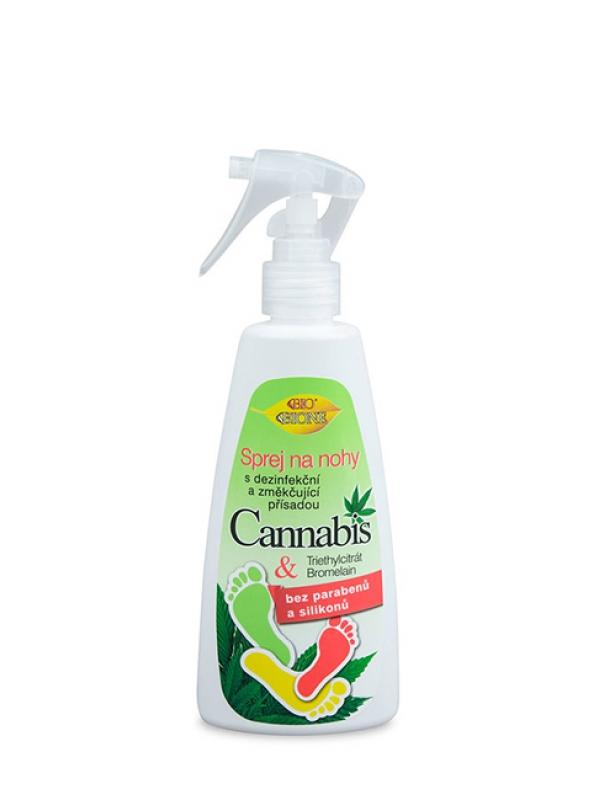 Sprej na nohy dezinfekčný BIO CANNABIS 260 ml