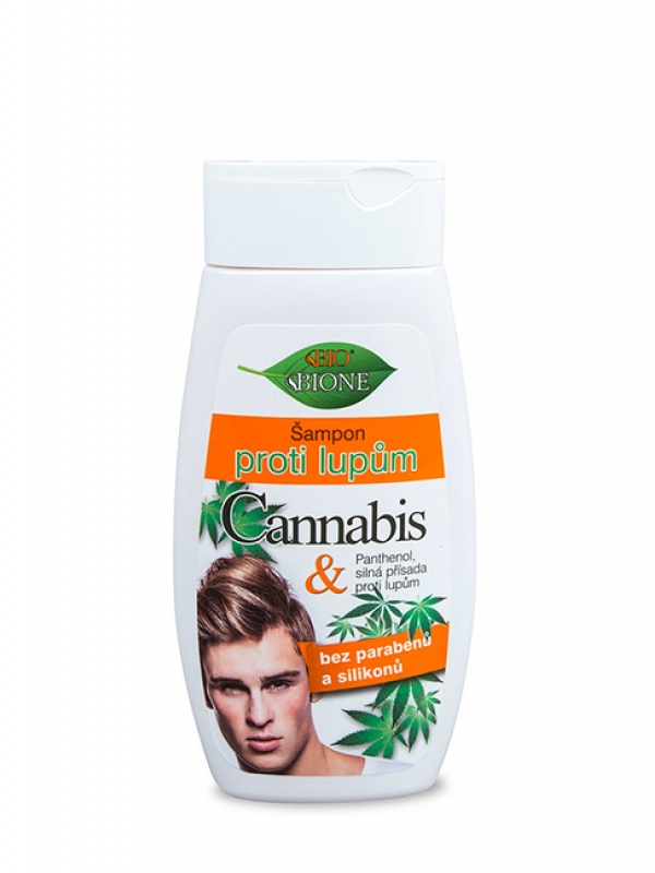 Šampón proti lupinám pre mužov BIO CANNABIS 260 ml