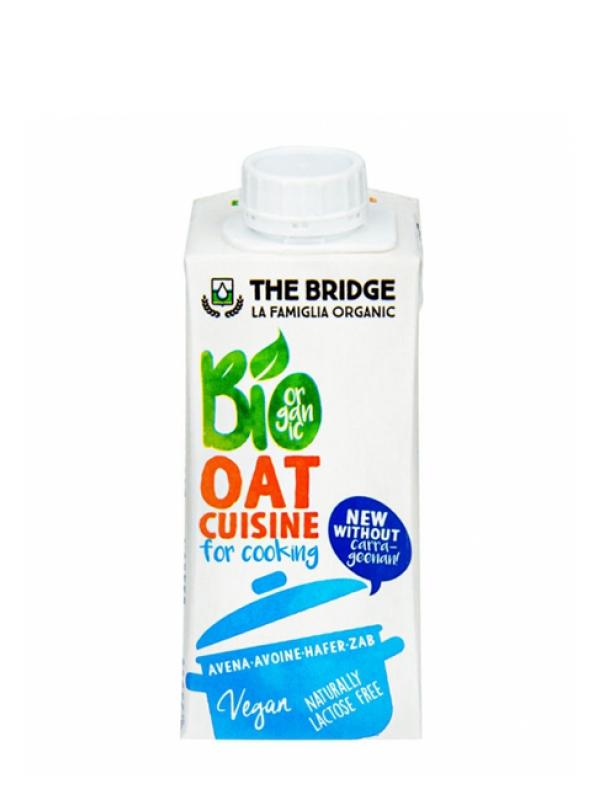Ovsená alternatíva smotany Bio THE BRIDGE 200 ml